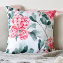 Cushion In Watercolour Flowers