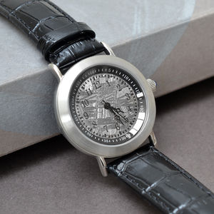 Brush Finish Muonionalusta Meteorite Watch - watches