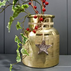 Gold Star Lantern - lights & lanterns