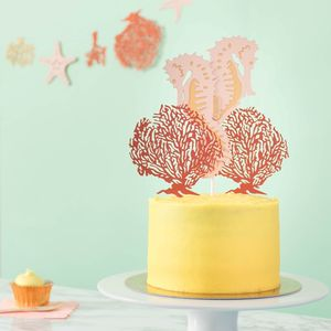 Seahorse Wedding Cake Topper - cakes & treats