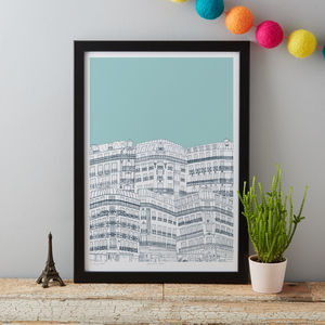 Downtown Paris Art Print - whatsnew