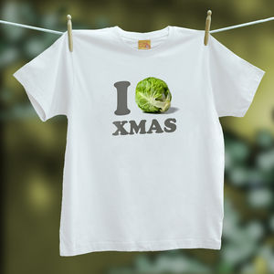 Christmas T Shirt I 'Sprout' Christmas