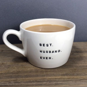 Best. Ever. Wife Husband Mug - mugs