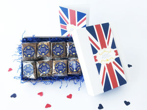 British Luxury Gluten Free Brownie Box