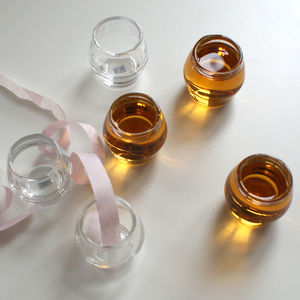Handblown Modern Shot Glasses Set Of Four - shot glasses