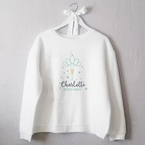 Personalised Prosecco Princess Jumper