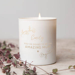 Mummy To Be Gift Candle