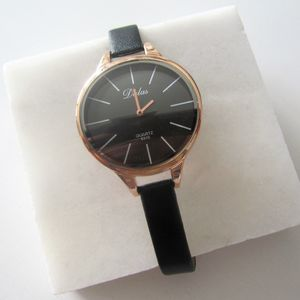 Rose Gold Slim Watch - watches