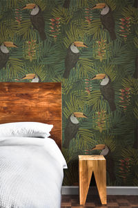 Toucan Wallpaper - dining room
