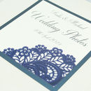 Personalised Victoria Wedding Photo Album