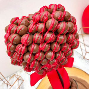 Malteser Chocolate Drizzle, Heart Tree - sweets