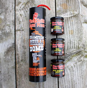 The Champion Chilli Bomb - sauces & seasonings