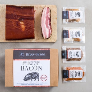 Make Your Own Bacon Kit Spicy - new lines added