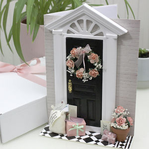 Gifts At The Door Mothers Day Card