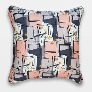 Midcentury Inspired Cushion 'Starlight' Design