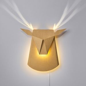 Deerhead Wall Light