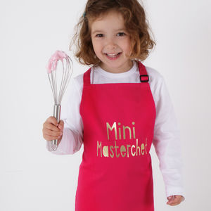 Mini Masterchef Kids Apron - cooking & food preparation