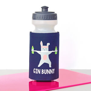 'Gin Bunny' Water Bottle - new in garden