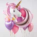 Sparkly Unicorn Crazy Party Balloon Bunch