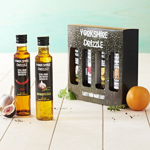 Rapeseed Oil And Balsamic Vinegar Gift Set - Yorkshire
