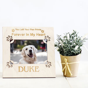 Personalised Memorial Dog Picture Frame