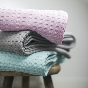 Waffle Baby Blanket - blankets, comforters & throws