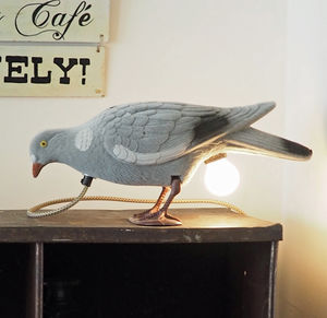 Pigeon Decoy Lamp - table lamps