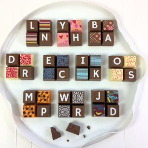 Personalised Chocolate Squares Favours - chocolates & confectionery