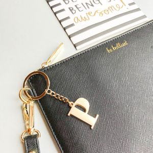Personalised 'Be Brilliant' Secret Saying Clutch Bag