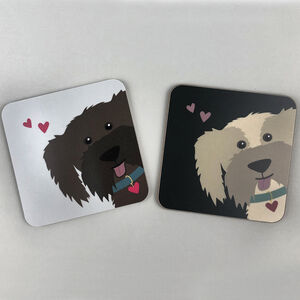 Cockapoo Dog Coasters
