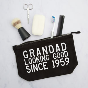 Personalised Pouch For Him
