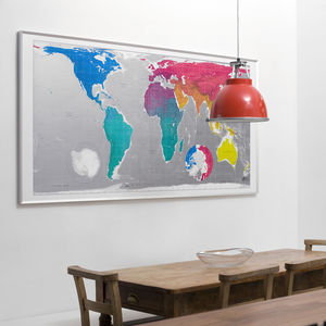 Large World Map - posters & prints