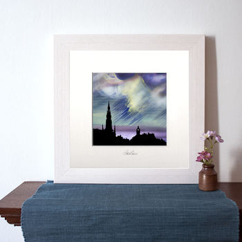 Edinburgh Nights Sky Art Print
