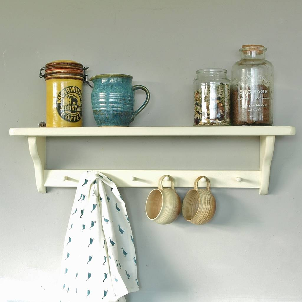 Vintage kitchen wall shelf by seagirl and magpie vintage kitchen wall shelf amipublicfo Gallery