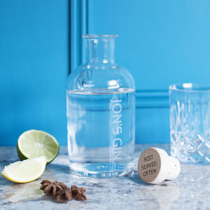 Personalised Gin Decanter Set - jugs & bottles