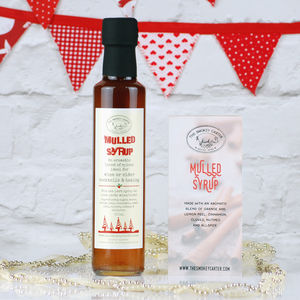 Mulled Syrup For Wine, Cider And Cocktails - stocking fillers