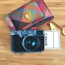 Retro Camera Card Holder For Travel/Business Cards