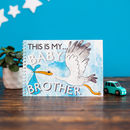 Personalised My Baby Brother Keepsake Activity Pack