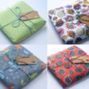 Suzielou textiles gift wrapping options
