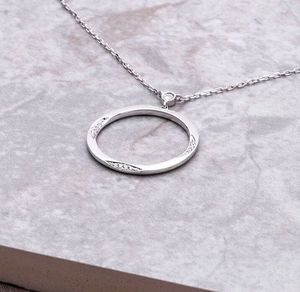 18ct White Gold And Diamond Purity Necklace - necklaces & pendants
