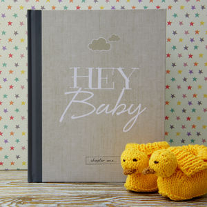 Baby Journal And Record Book - stationery