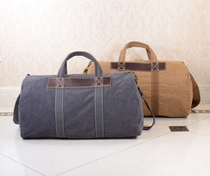 Canvas Duffle Gym Bag - gifts for him