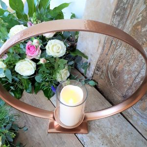 Copper Ring Lantern