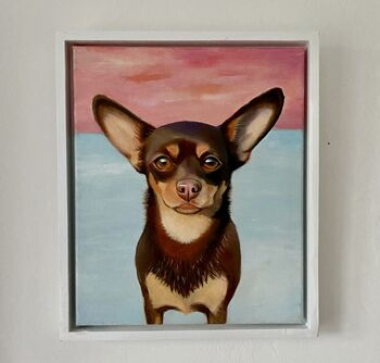 Personalised Hand Painted Oil Pet Portrait