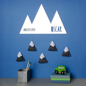 Mountain Adventurer Felt Acrylic Mirros - baby's room