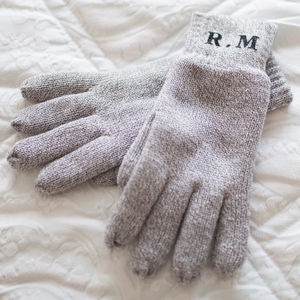 Personalised Initials Gloves - men's accessories