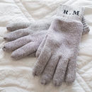 Personalised Initials Gloves