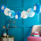 Ombre Balloon Advent Calendar - christmas decorations