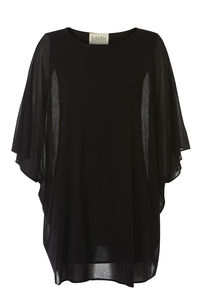 Black Cape Dress - dresses