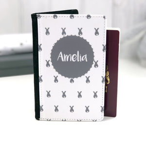 Bunny Personalised Passport Case